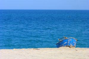 Calabria - barca sul mare