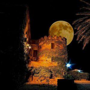 Calabria - la torre di notte